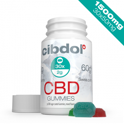 CBD-vingummin (1500 mg CBD)